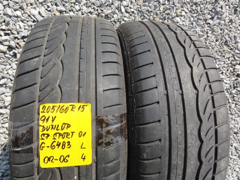 205/60 R15 91V DUNLOP SP SPORT 01